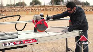 Rubi Tile Saw Uk by How To Use A Rubi Dx 250 Professional High Performance