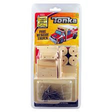 100 Tonka Fire Rescue Truck Build And Grow Kids Beginner Project Kit At