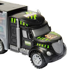 100 Dinosaur Truck Oumoda S Transport Car Carrier Toy 6