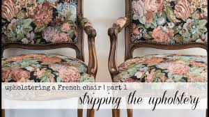 100 C Ing Folding Chair Replacement Parts Reupholstering A French Chair Part 1 Stripping Old Upholstery
