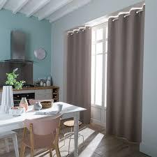 rideaux cuisine leroy merlin rideau country baby beige en coton l 145 x h 260 cm leroymerlin