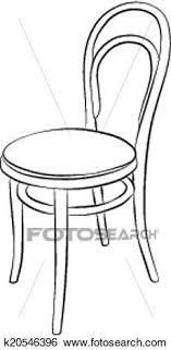 dessiner une chaise clipart chaise dessin k20546396 recherchez des cliparts des