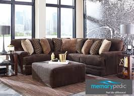 Denali Chocolate 2 Pc Sectional Reverse
