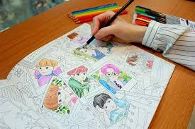 EXO A Day In Exoplanet Official Coloring Book
