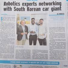 An Article On Our Innovateuk Trade Mission Featured In Yesterdays BristolPost Newspaper Weve Been Making Some Great Contacts Sensors Coming Soon
