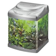 superfish panorama 40 gris argenté aquarium équipé de 20