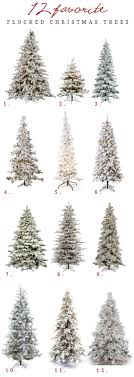 The Best Flocked Christmas Trees Available Online From 3 To 12 Tall