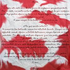 Carta Para Un Amigo De Verdad Soy Carmín