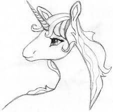 Informative Drawings Of Unicorns Pencil How To Draw A Cute Unicorn