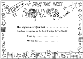 Grandparents Day Colouring Pages