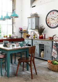 MagiDeal Vintage Wall Clock Rustic Shabby Chic Home Kitchen Wooden Decor