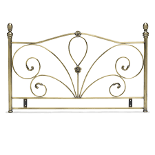 Wrought Iron King Headboard And Footboard by Update Your Bedroom With An Antique Style Iron Headboard Jitco