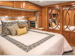 Rv Inside Bedroom Mobile Suites Stock Photo Remodel