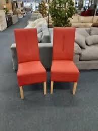 rote kunstleder stühle möbel gebraucht kaufen ebay
