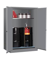 Flammable Safety Cabinet 30 Gallon by Ex Vertical Drum Cabinet And Rollers 60 Gal 1 Shelf 2 M C Drs