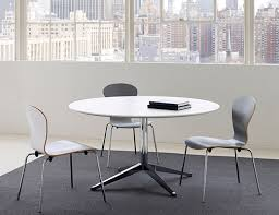 Florence Knoll Round Table Desk Sprite Chair