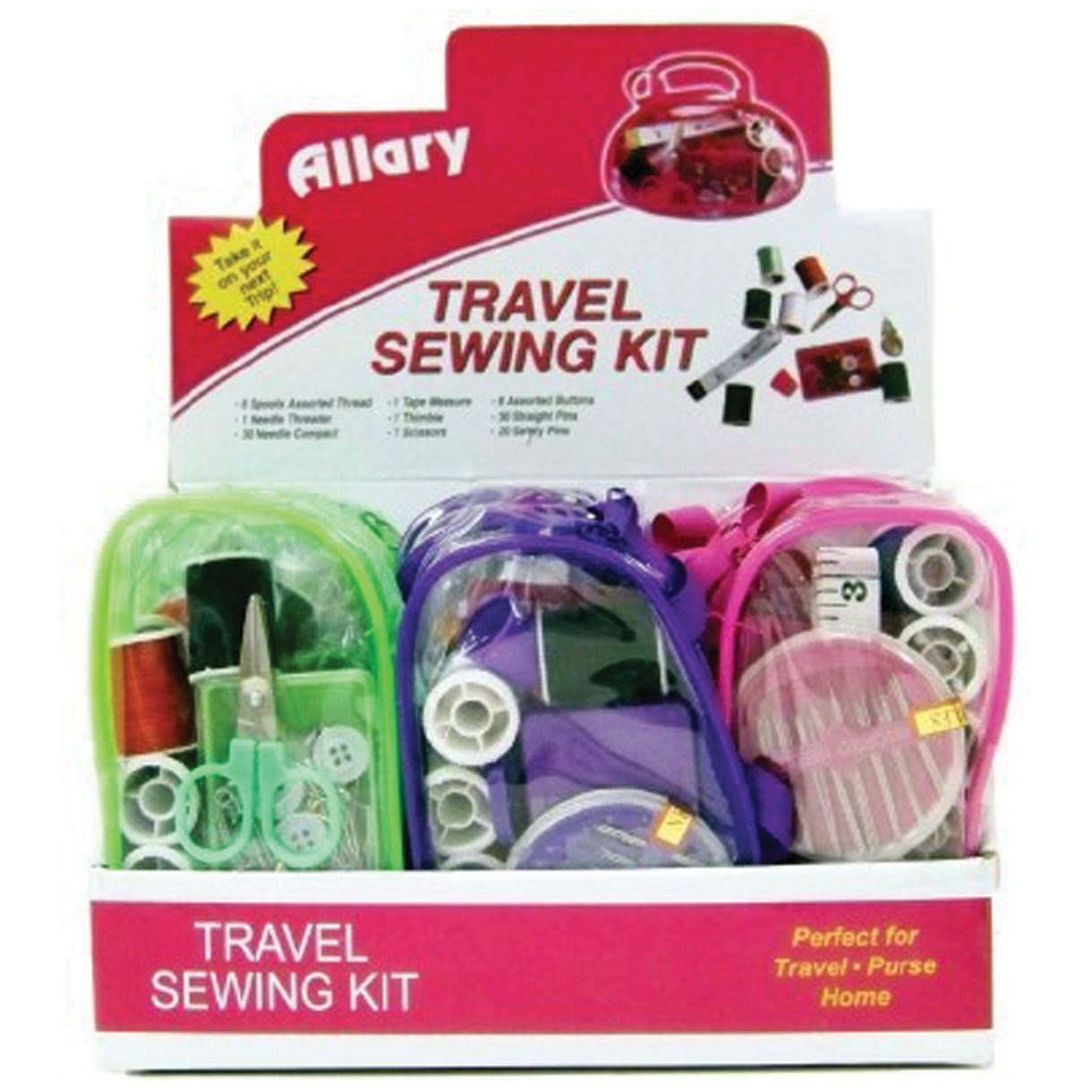 Allary Travel Sewing Kit