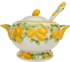 Pumpkin Soup Tureen And Bowls by Temp Tations Old World 4 Qt Embossed Pumpkin Tureen W Ladle