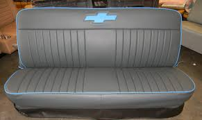 67-72 Chevy Truck Seat Covers / Single Bow Tie / Rick's Custom ... Awesome Of Chevy Truck Bench Seat Covers Youll Love Models 1986 Wwwtopsimagescom 1990 Chevygmc Suburban Interior Colors Cover Saddle Blanket Navy Blue 1pc Full Size Ford 731980 Chevroletgmc Standard Cab Pickup Front New Clemson Dodge Rear 84 1971 C10 The Original Photo Image Gallery Reupholstery For 731987 C10s Hot Rod Network American Chevrolet First Gen S10 Gmc S15 Rebuilding A Stock Part 1 Chevy Bench Seat Upholstery Fniture Automotive Free Timates