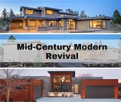 Modern Houseplans Transitional Mid Century Modern House Plans A Revised Classic