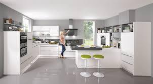 küche mit griffleisten in u form küchen ideen