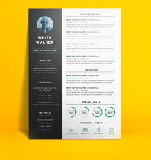 Simple And Clean Resume By PSDfreebies