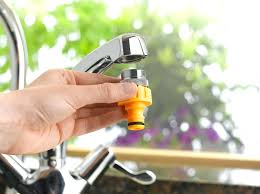Sink Spray Hose Quick Connect by Kitchen Faucet To Hose Adapter U2013 Wormblaster Net