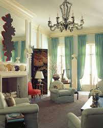 refresh your living room with mint curtains fresh and pastel style