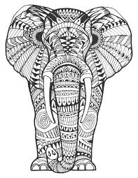 Balinese Animal Coloring Pages Adult Book 20 Stress Relieving Landscapes And Amazing Patterns Books For