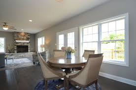 LAD Construction Custom Homes Include Standard Kitchen And Dining Room Design Options Such As Maple Or Oak Cabinetry Hardwood Ceramic Floors That