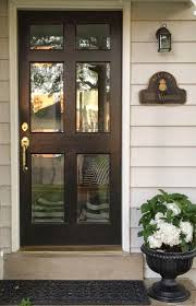 fancy entry doors with glass using polished brass front door