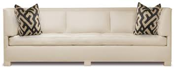 Studio Day Sofa Slipcover by Van Day Three Seat Sofa Traditional Transitional Mid Century
