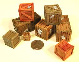 Simple Crates From Wooden Blocks