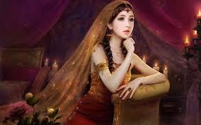 Beautiful Girl Painting Wallpaper Hd Woman Popular 2017