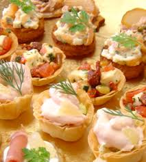 berry canapes canape menu martin catering