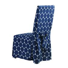 SureFit Ikat Dot - Dining Room Chair Slipcover - Indigo (SF45380) Lily Navy Floral Ikat Accent Chair Navy And Crimson Ikat Ding Chair Cover Velvet Ding Chairs Tufted Blue Meridian Fniture C Angela Deluxe Indigo Pier 1 Imports Homepop Parson Multicolor Set Of 2 A Quick Living Room And Refresh Stripes Whimsy Loralie Upholstered Armchair With Walnut Finish Polyester Stunning And Brown Ideas Ridge Table Eclectic Decatorist Espresso Wood Ode To The Skirted Katie Considers