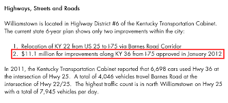 Ky Transportation Cabinet District 6 by Expected Highway Expansion For Noah U0027s Ark Theme Park Left Out Of