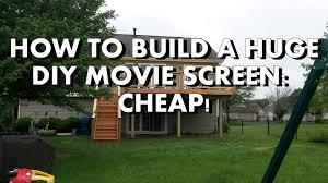 DIY: How To Build A Huge Backyard Movie Screen Cheap! - YouTube Diy How To Build A Huge Backyard Movie Screen Cheap Youtube Outdoor Projector On Budget 6 Steps With Pictures Elite Screens Yard Master 200 Projection Screen Rent And Jen Joes Design Best Running With Scissors Diy Pics Charming Open Air Cinema 16 Feet Home For Movies Goods Projector Screens Theater Guide People Movie Theater Systems Fniture And Ideas Camp Chef Inch Portable Photo Watching Movies An Outdoor Is So Fun It Takes Bit Of