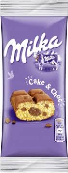 milka cake choc contents 35g volume 24 pcs individual hygienic packaging small cakes with alpine milk chocolate