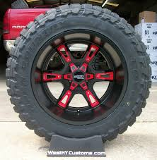 20x12 Black Moto Metal 969 Wheels W/ 35/12.50R20 Toyo Open Country ...