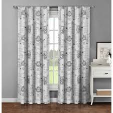 Eclipse Thermaback Curtains Smell by Chicology Adjustable Sliding Panel Cut To Length Curtain Drape