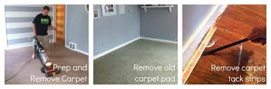 How Remove Paint From Carpet by How To Remove Carpet And Refinish Wood Floors Part 1 Classy Clutter