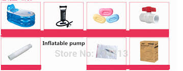 Inflatable Bathtub Liner For Adults by Aliexpress Com Buy Bathtubs Foldable Durable Spa Inflatable Bath