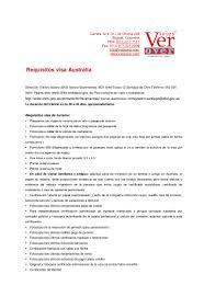 VisasAustraliaDocumentaciónTramiteswwwviajesvercom