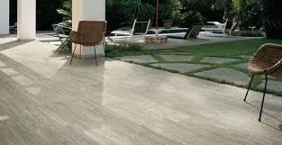 Gray Porcelain Tile Patio Plastic Patio Flooring Tile Interlocking