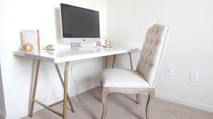Linnmon Corner Desk Hack by Ikea Desk Hack Beautiful Gold Desk Under 100 Youtube