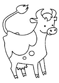 Coloriages De Vaches With Coloriage Vache Rigolote Gratuit Beau