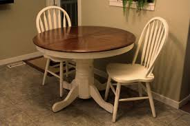 100 Round Oak Kitchen Table And Chairs Simple Dining Room Design With White Painted Extending