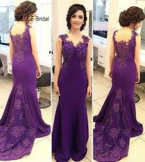 popular mermaid purple evening gowns buy cheap mermaid purple