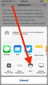 How to Save as PDF from iPhone or iPad with a Gesture in iOS 10